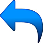 Blue Left Arrow